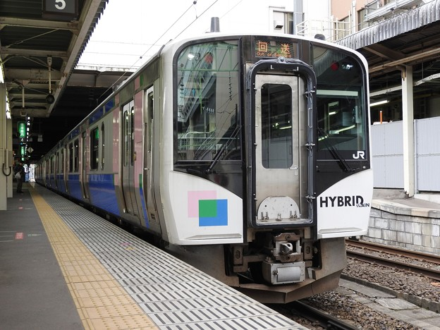 Photos: HB-E210系C-1編成仙台2番にて