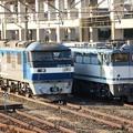 今朝の宇都宮貨物(タ) EF210-132とEF65 2138の並び