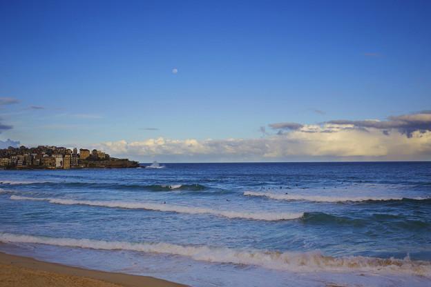 九月份的澳洲邦迪海灘