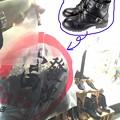 写真: 富發牌のブーツ
