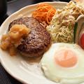 写真: おろしハンバーグ定食(日替わり)by摂津の湯