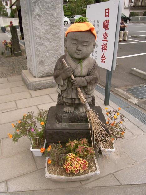 【秋】お地蔵さんもハロウィン仕様!?|[地域]