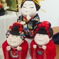 写真: こちらも創作人形展にて。ユーモラスで可愛いでしょ♪ 宣伝になるので...
