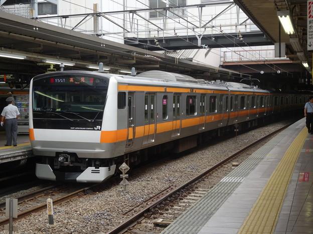 E233系0番台 立川駅にて2