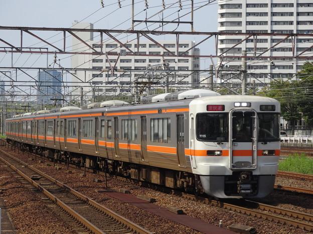 313系 新快速 熱田駅にて2
