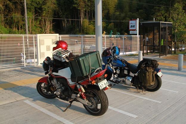 写真: 120507-1関西ツーリング・新東名走りました・静岡SA