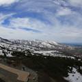 140512-181東北ツーリング・八甲田山・ロープウエー山頂駅付近からの景色