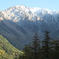 151014-8焼岳登山と上高地・河童橋からの吊尾根