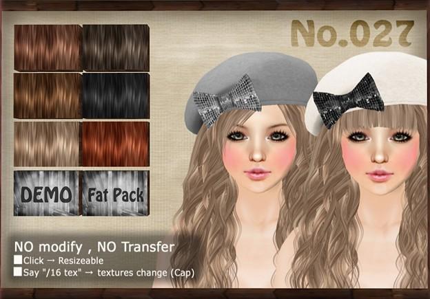 [ Love Soul ] Hair+Cap*027*