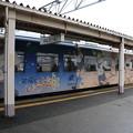 写真: 能登鉄道ラッピング電車