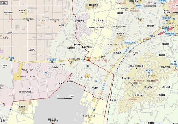 ラーメンショップ六方店MAP1