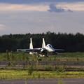 Photos: F-15DJ 西日に