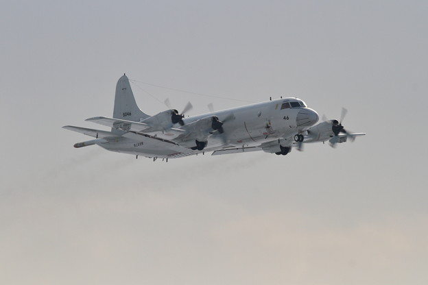 P-3C 5046 VP-1が飛来 2