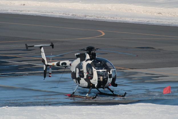 冬季迷彩 OH-6D 31253 NH 1994.MAR 丘珠