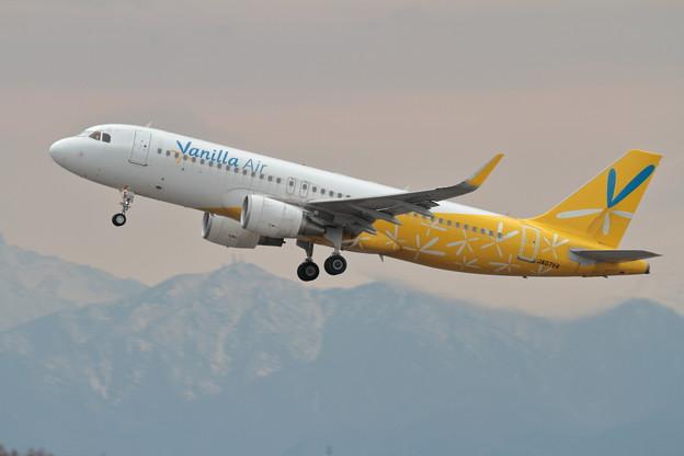 A320 JA07VA takeoff