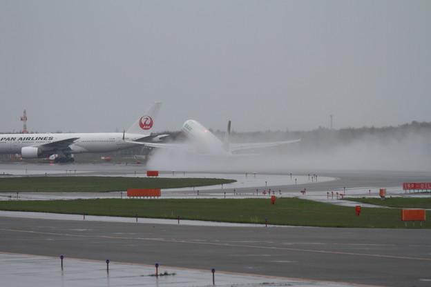 A321 EVA 水煙