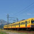三岐鉄道:藤原岳バック