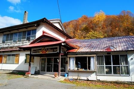 北海道らしくない和風な外観