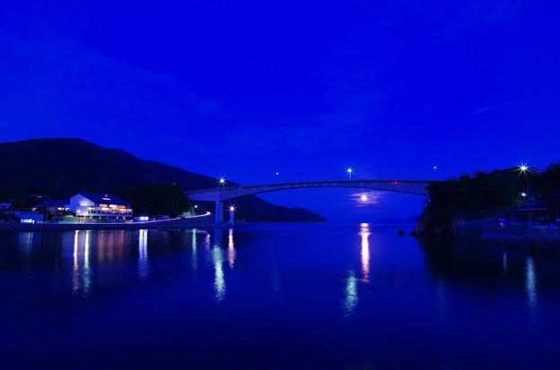 橋の下の十六夜