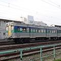 DMU / Kiha 30 bi-directional in JR East Kururi line livery