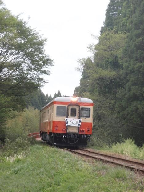 Photos: Isumi Railway DMU Kiha 52 125, ex-JR West