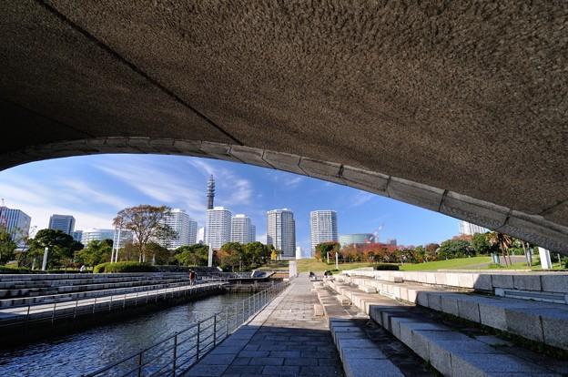 Photos: アーチ橋から覗いてみると