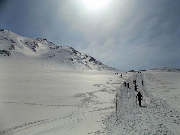 Photos: 立山一の越山荘を目指して(2)