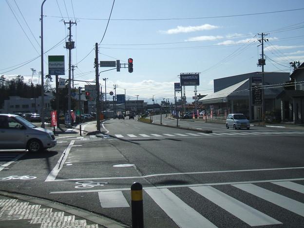 国道49号 - 居合団地入口交差点