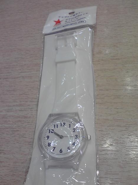 Photos: 以前から気になっていたキャンドゥの百均アナログ腕時計をゲットしました(^_^)v
