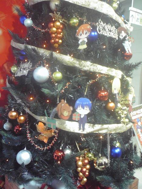 秋葉原らしいクリスマスツリー(^O^)