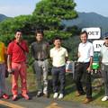 写真: 足利カントリークラブAクラス関谷記念杯終了後にアシカンファミリーの皆さんと2014.8.3