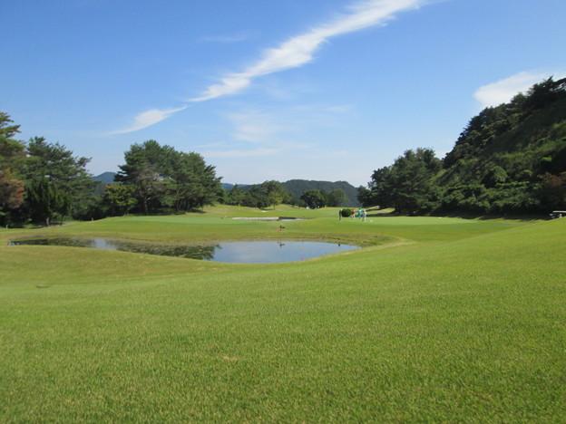 足利城ゴルフ倶楽部6番ミドルホール2014.9.23