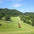 Photos: 足利城ゴルフ倶楽部9番ロングホール2014.9.23