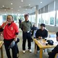 Photos: 足利カントリークラブ11月Bクラス月例杯競技終了後の隆さん、江さん、和くん、宮くんのアシカンファミリー2015.11.15