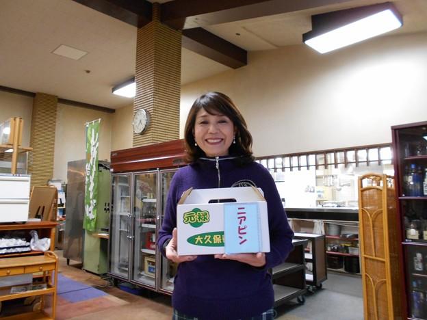 Photos: 足利カントリークラブ企業杯コンぺNP賞ゲットでニッコリの鉄女奥様2015.12.19