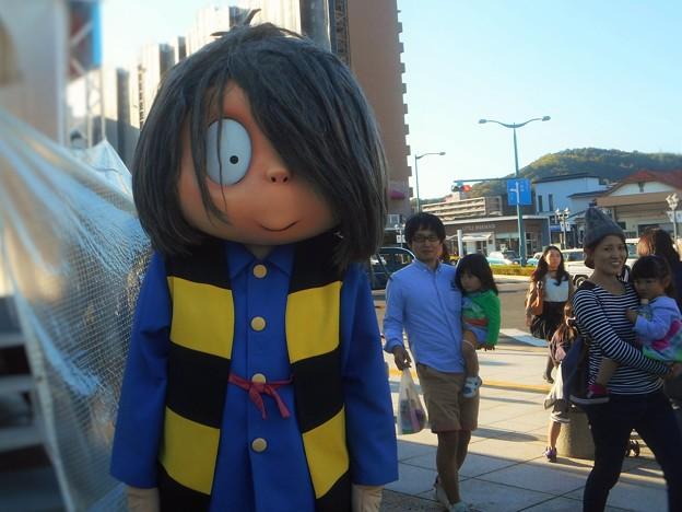 Photos: 鬼太郎が グルメサミットin尾道 にやって来た。