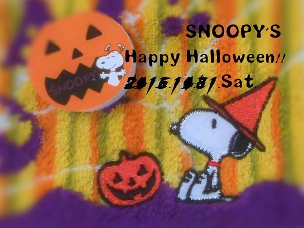 スヌーピーのHappy Halloween 2015