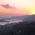 浄土寺山の夕陽