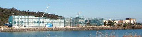 三井アウトレットパーク 滋賀竜王(仮称)平成22年夏オープン予定で建物建設中 3-220124-1