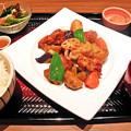 Photos: 大戸屋 ( 成増 )  鶏カラの黒酢あんかけ定食