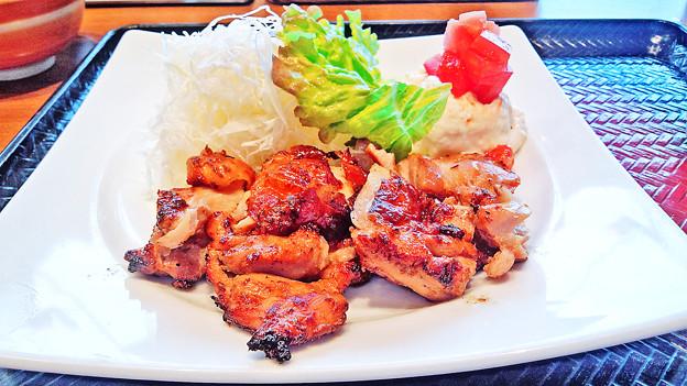 大戸屋 ( 成増 )  もろみ漬け鶏の炭火焼き            2016/03/19
