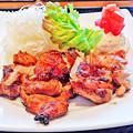 写真: 大戸屋 ( 成増 )  もろみ漬け鶏の炭火焼き            2016/03/19