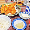 やまだや ( 成増 = やまだ食堂 )  ミックスフライ定食            2016/04/15