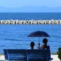 夏の日差し 海辺のひと時