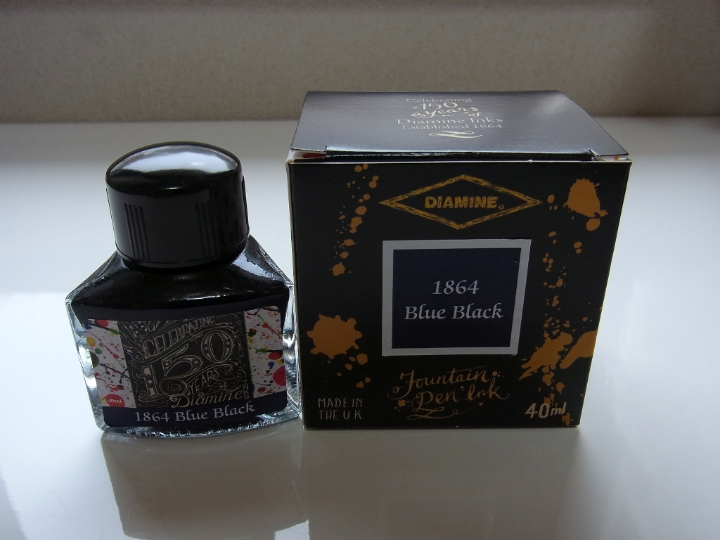 Diamine Anniversary Collection 1864 Blue Black