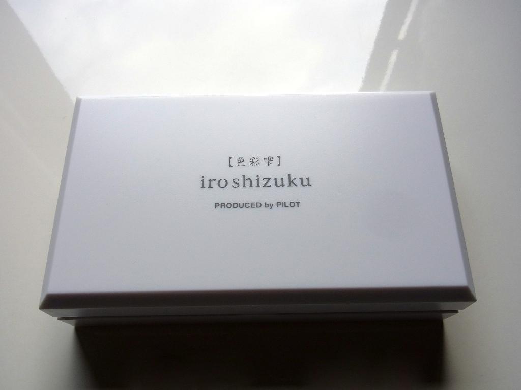 PILOT iroshizuku mini bottle (case)