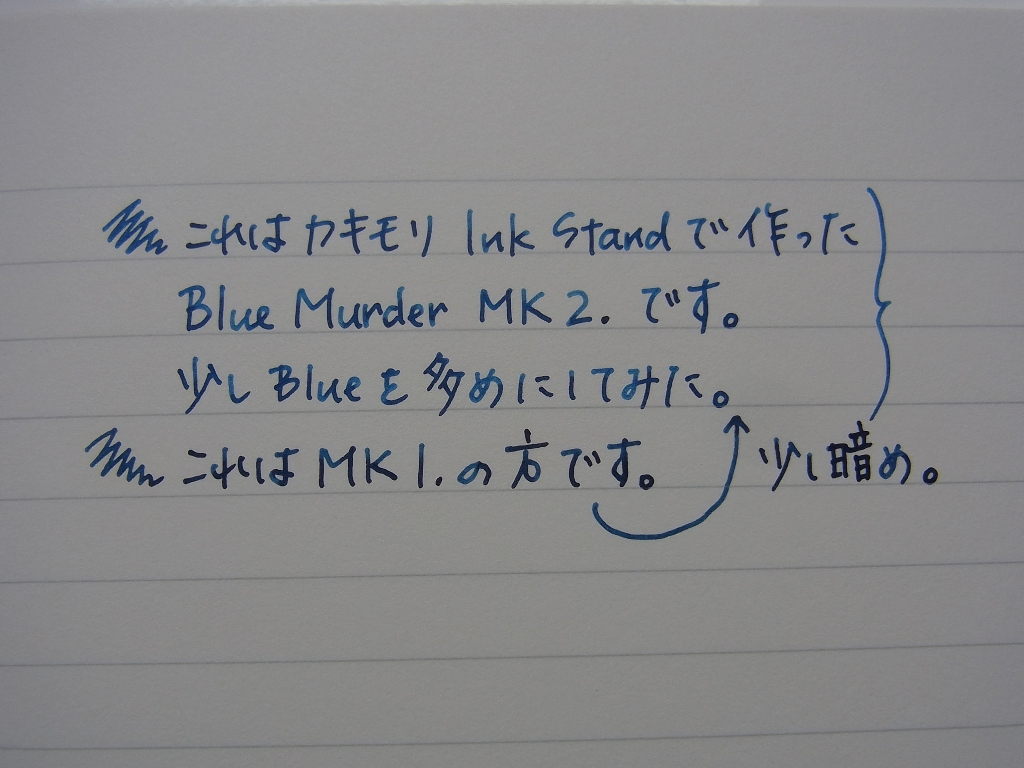 Comparison between Blue Murder MK-II. and Blue Murder