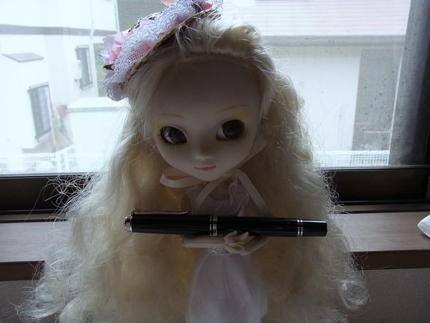 Pelikan Souveran M605 with doll