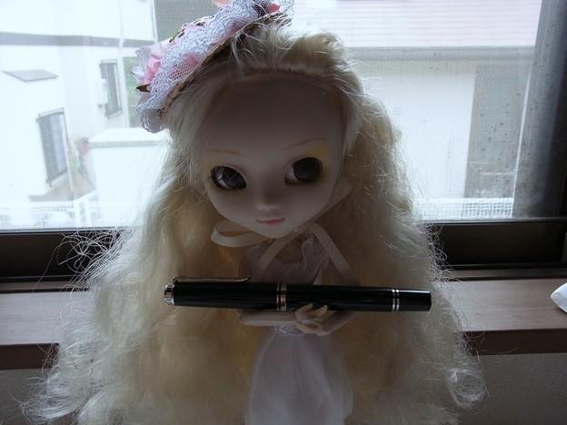 Pelikan Souveran M605 with doll
