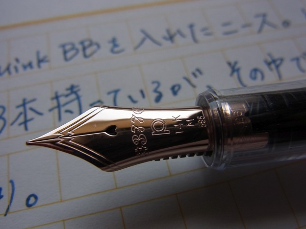 PLATINUM #3776 Century NICE Nib (other shot)